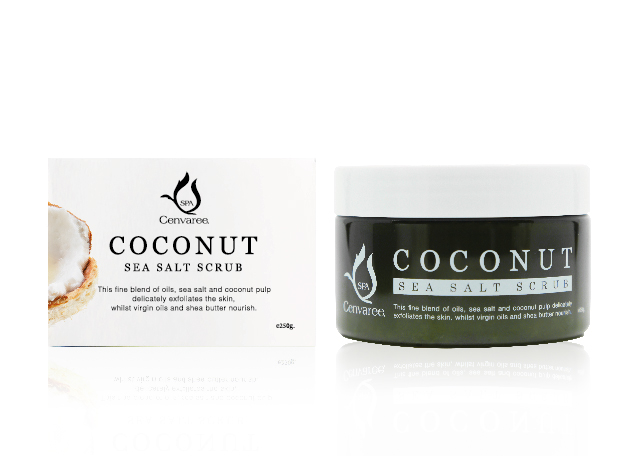 Coconut Sea Salt Scrub