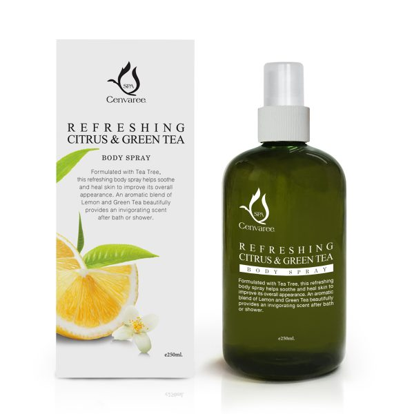 Refreshing Citrus & Green Tea Body Spray