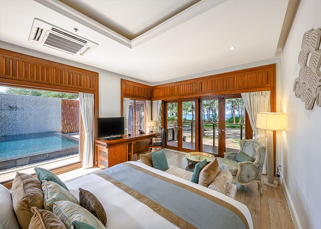 A One Bedroom Pool Villa 1 night for 2 persons