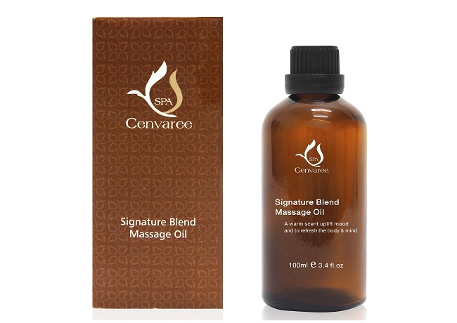 Spa Cenvaree Signature Massage Oil